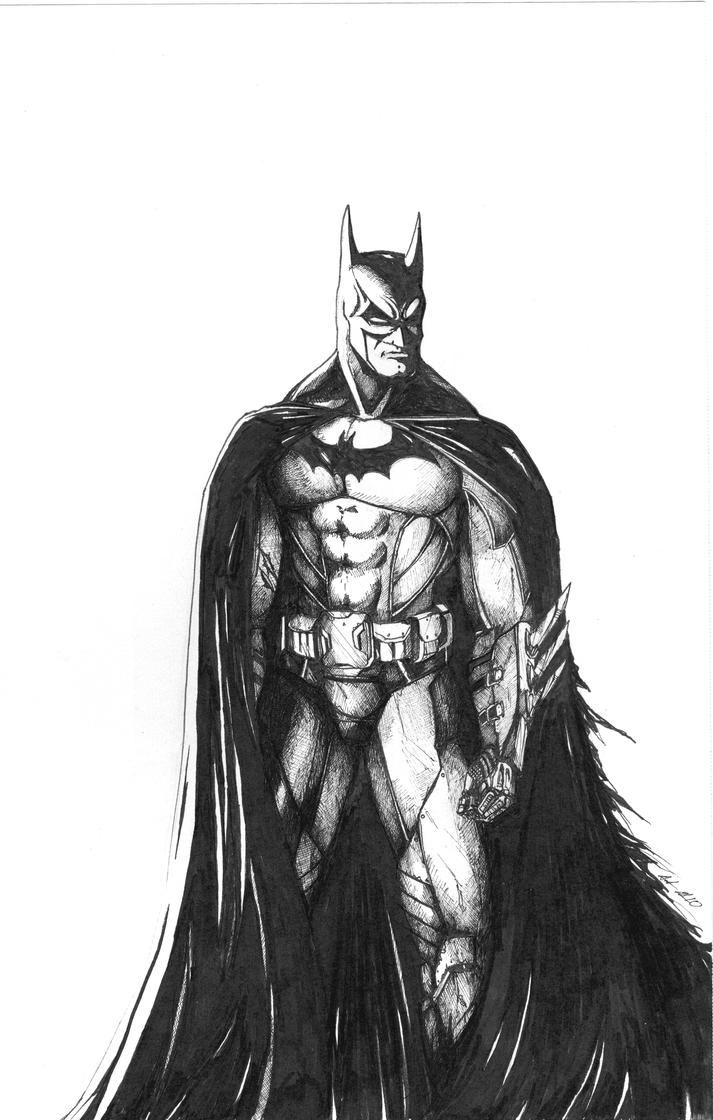 Batman by JusDrewIt on DeviantArt