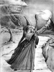 Gandalf the Grey by JusDrewIt