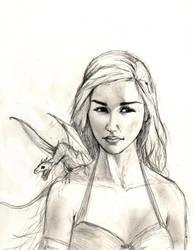 The Khaleesi by JusDrewIt