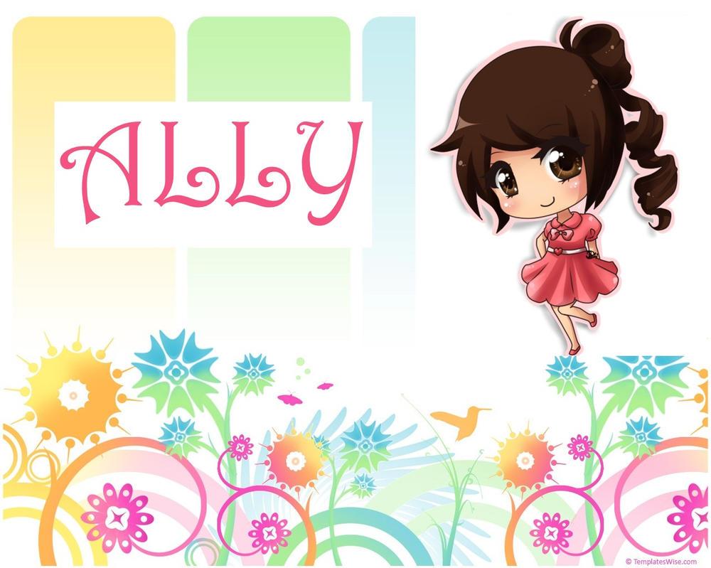 ALLY by ally20000