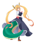 Art Trade: Dragon Maid-Tohru