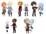 (C): OCxOC Chibi Batch Set 2