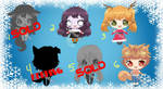 Holiday Adopts (OPEN) (REDUCED)Set Price 3/6