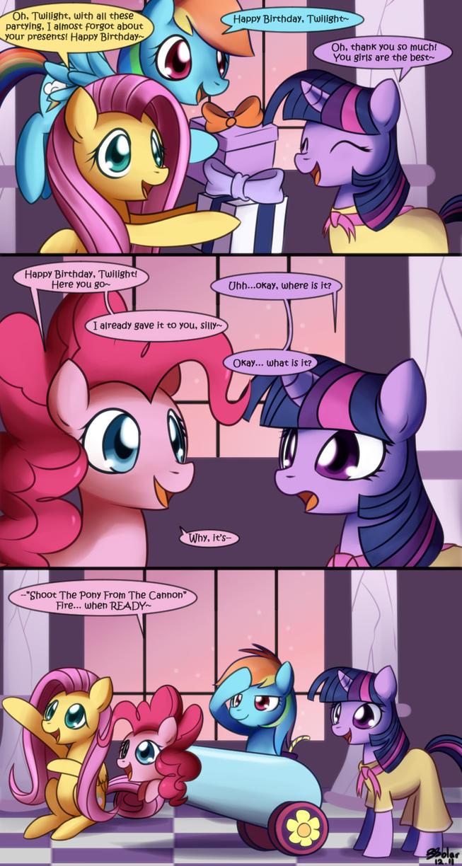 Pinkie's Present by Solar-Slash