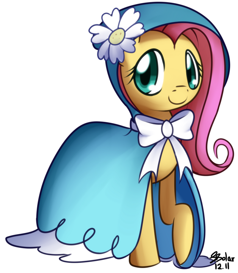 Fluttershy - Dress by Solar-Slash