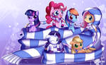 Little Pony Scarves, Big Scarf