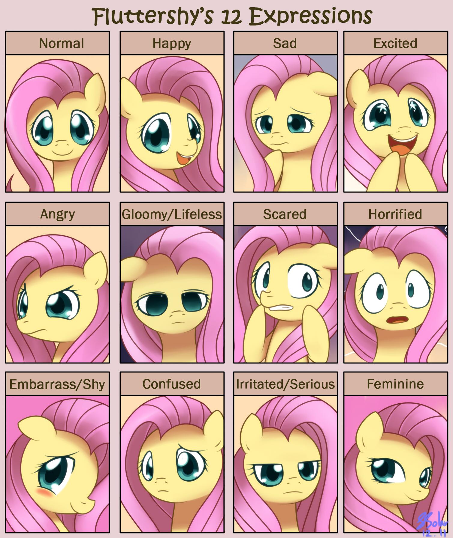 fluttershy_12_expressions_by_solar_slash