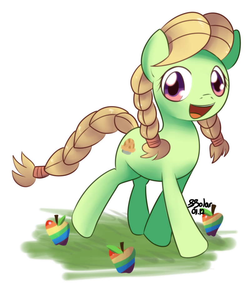 The Young Granny Smith by Solar-Slash
