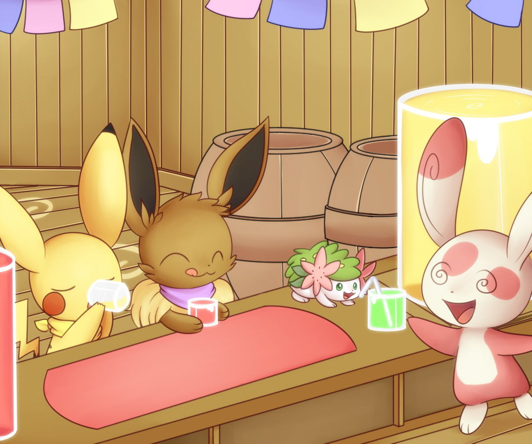 Spinda's Cafe by Solar-Slash