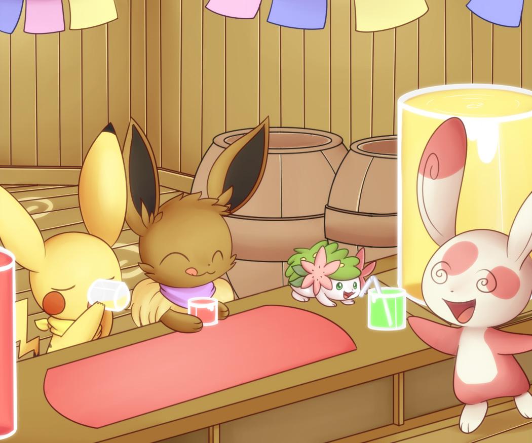 Spinda's Cafe by Solar-Slash