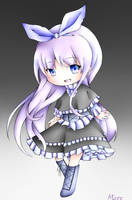 Chibi Of Violet by AtaroNymeria