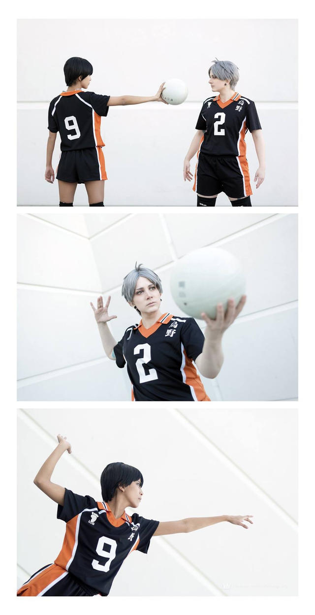Sugawara Koushi Cosplay from Haikyuu!! by Justicarsirena