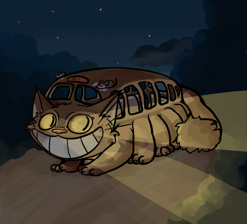 The Catbus by mintykoneko