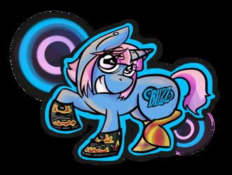 Zelle Pony by mintykoneko