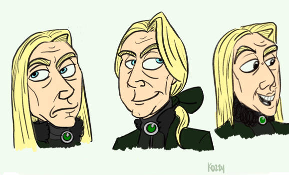 Lucius doodles