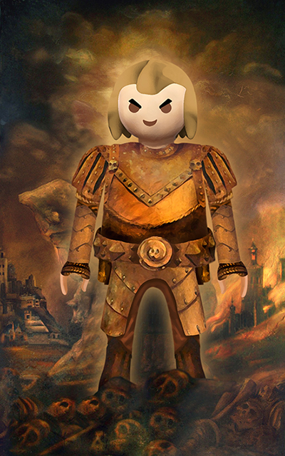 Vigo The Carpathian - ghostbusters playmobil style by panchotley