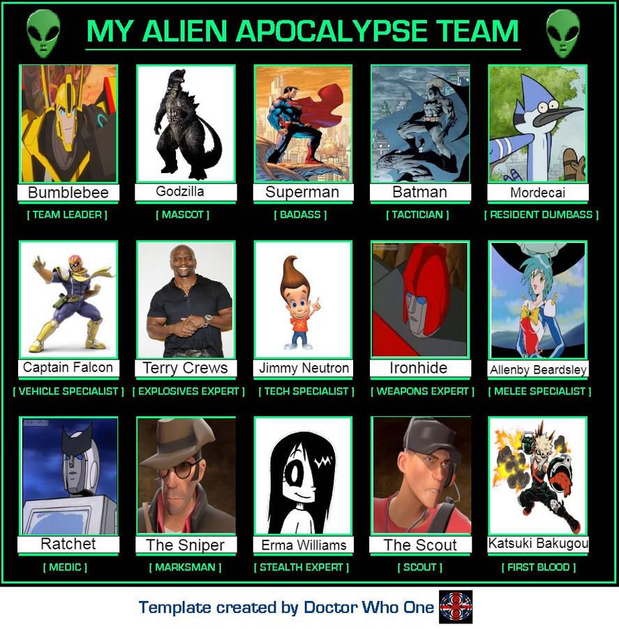 Alien Apocalypse Team #3