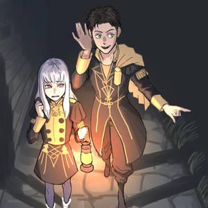 Did you hear that, Lysithea?/ Fire Emblem three ho