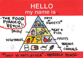 The Food Pyramid by HorribleBlack
