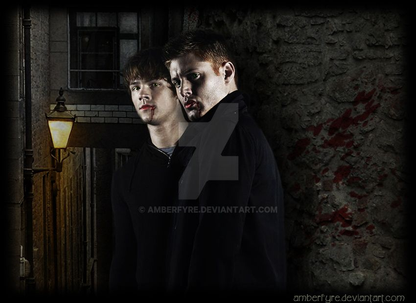 Vampire Winchesters by amberfyre