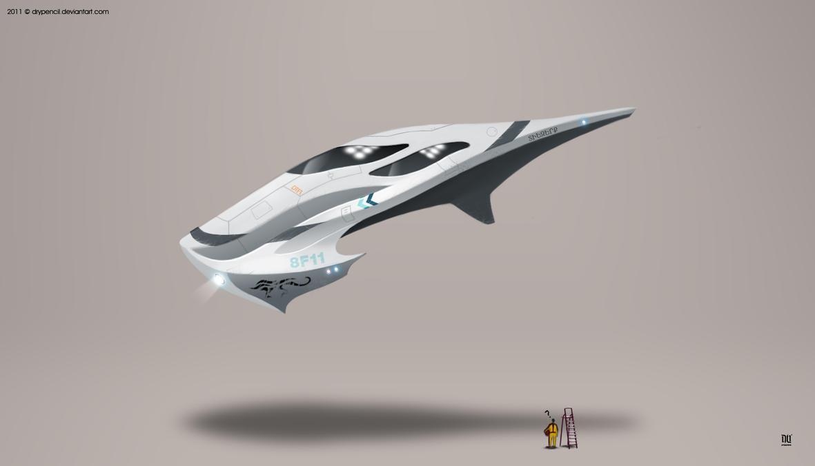 Spacecraft Concept 2 By DavidHakobian On DeviantArt