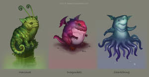 Creature Designs by DavidHakobian