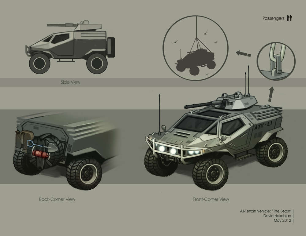 All Terrain Vehicle by DavidHakobian