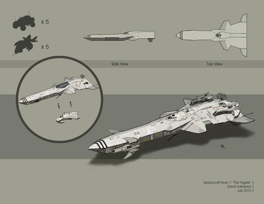 Spacecraft level 7 by DavidHakobian