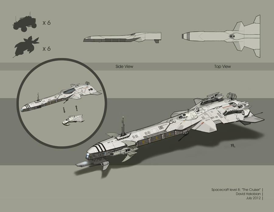 Spacecraft level 8 by DavidHakobian