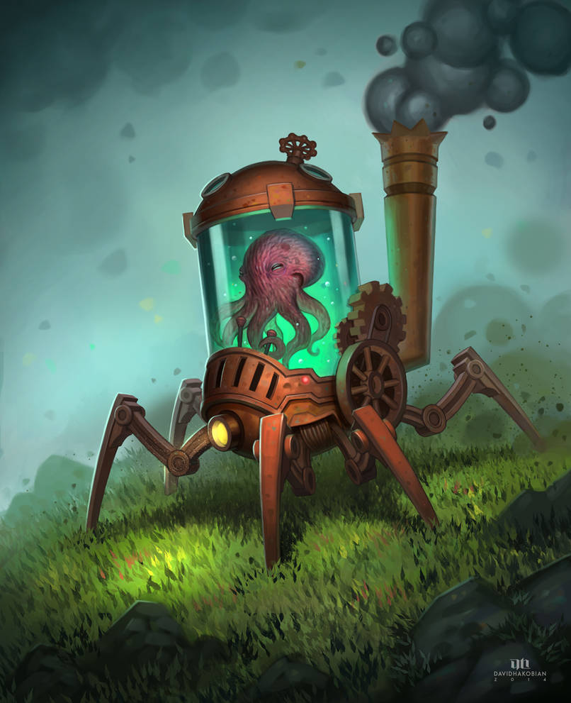 Steampunk Land Crawler