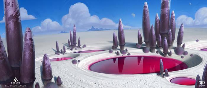 Erevos - Salt Desert by DavidHakobian