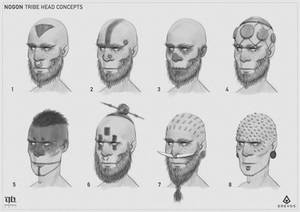 Nogon - Head Concepts