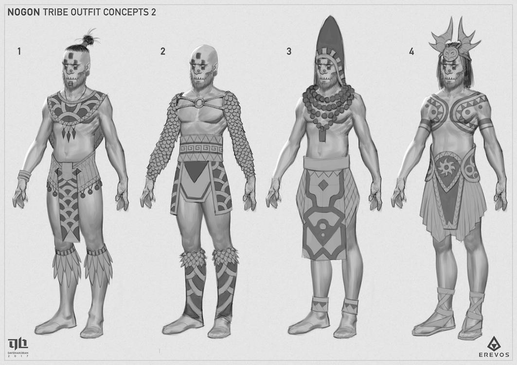 Nogon - Outfit Concepts 2 by DavidHakobian