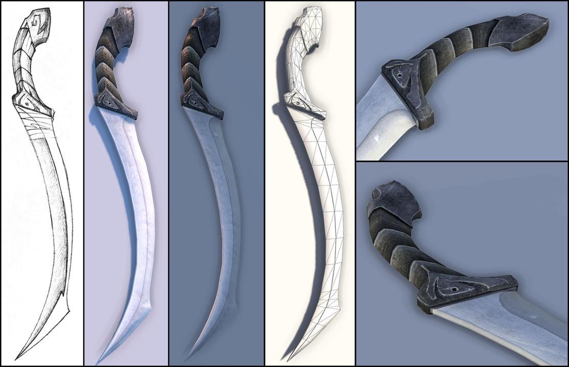 Dinican - Sword of Ashasi by Alfisko