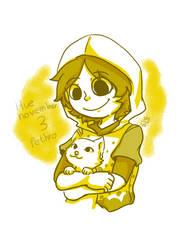 Huevember 3 Pethro by shino-no-tegami08