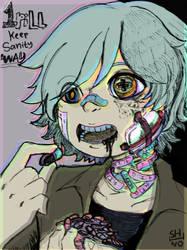 One Pill Keep Sanity Away by shino-no-tegami08