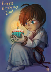 happy birthday isol!! by shino-no-tegami08