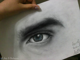 Michael's Eye by Aty-S-Behsam