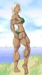 Beachgirl by ayanamifan