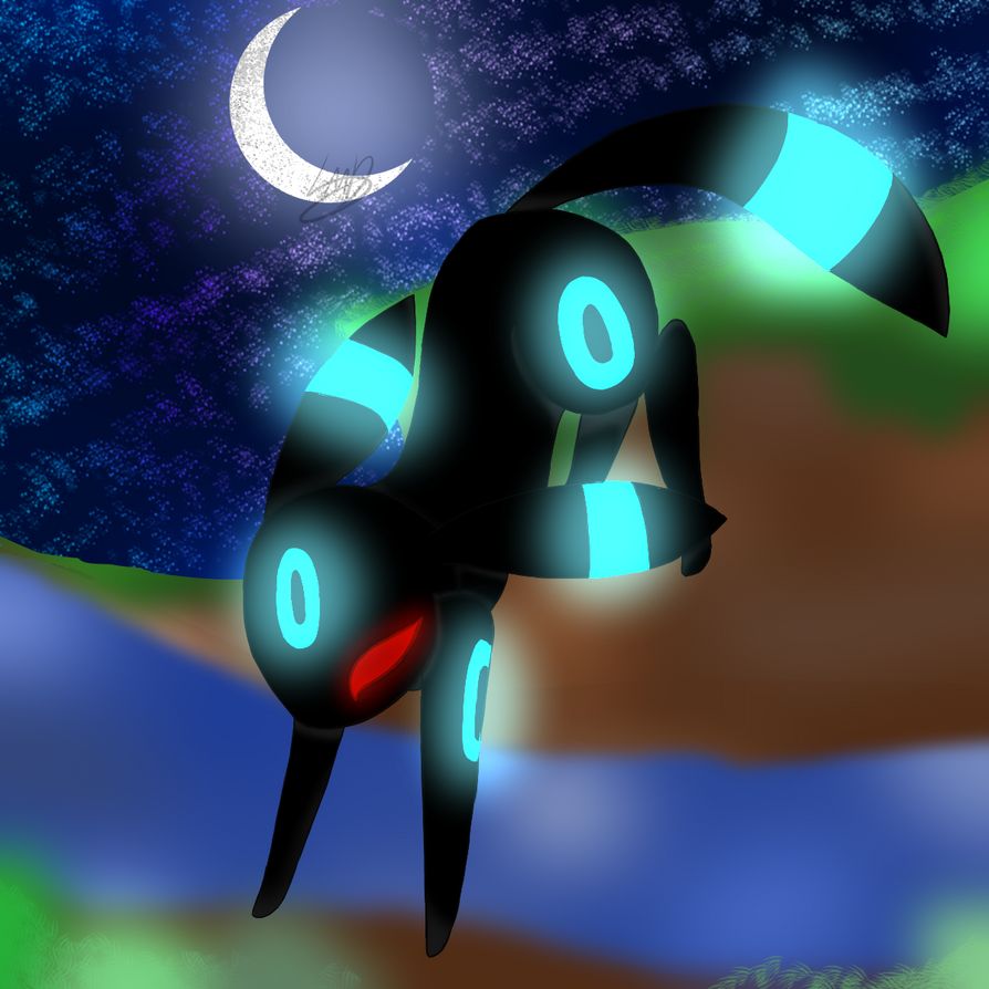Umbreon by LilacMoonlightDraws