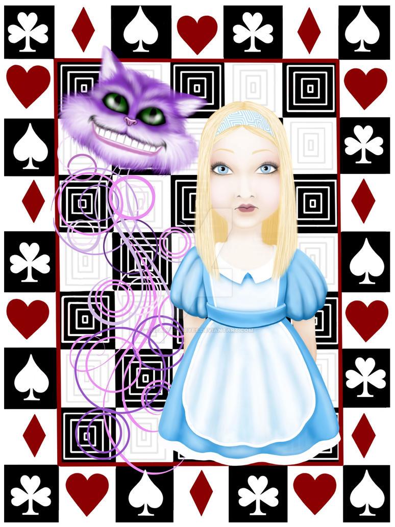 Alice fan art by theartistseyes