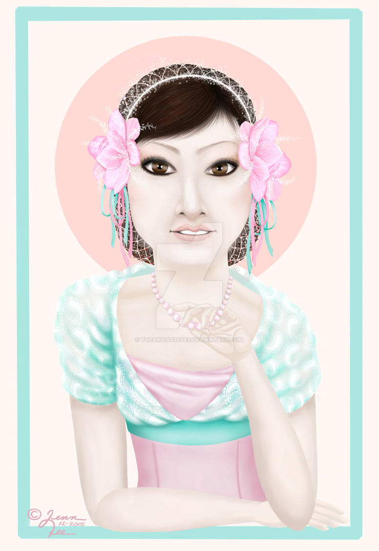 Pastel Portrait by theartistseyes