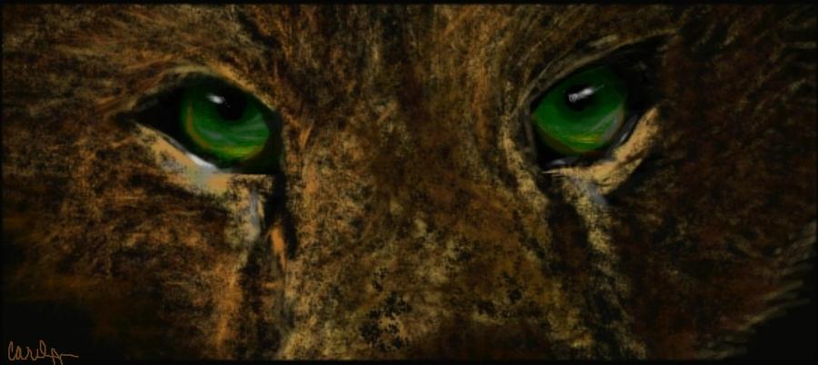 Wolf Eyes by Car2010loc