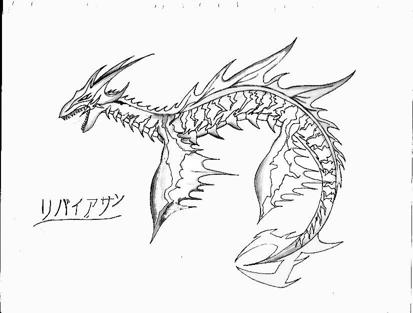 Leviathan- by Lunaromon on DeviantArt