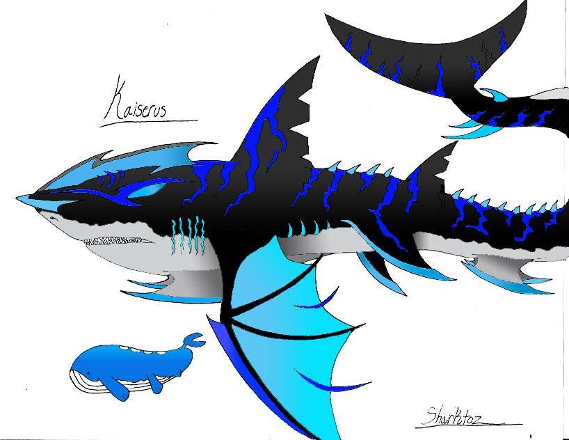 Kaiserus: The Mega Shark Pokemon by Sharktoz
