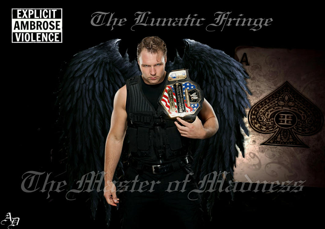 WWE Dean Ambrose Wallpaper By ShizuLeinXD