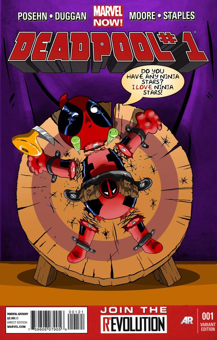Deadpool cover Remastered by BenPereira82