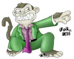 The Family Guy Monkey by irislight