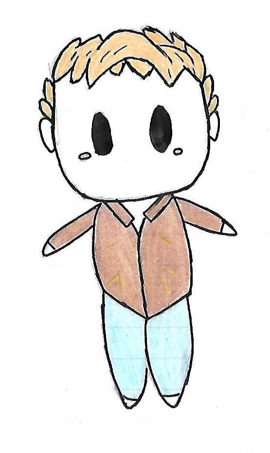 Chibi John by GleeCat