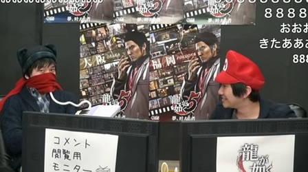 Owata-P playing a mini keyboard with Mario-san! by Paradi-Len-Kagamine